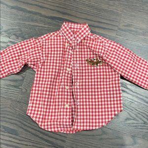 Ralph Lauren shirt size 12 months